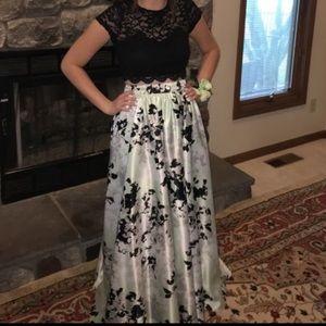 Really beautiful two piece prom dress